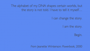 Jeannette Winterson: Powerbook, 2000 (quote)